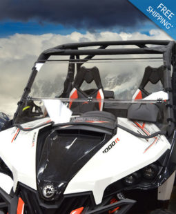 Can-Am Maverick Windshield - Full Folding Polycarbonate