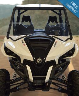 Can-Am Maverick Half Windshield