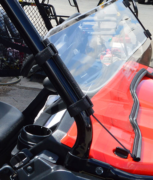 Honda Pioneer 500 Half Windshield