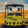 Yamaha Rhino Windshield - Full Folding Polycarbonate