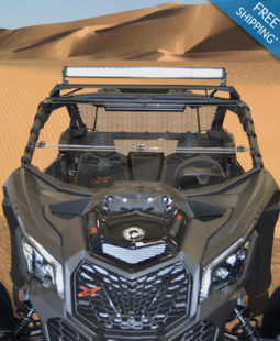 Can-Am Maverick X3 XDS/XRS Windshield - Full Folding
