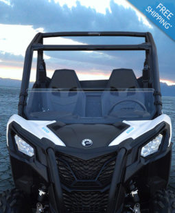 CanAm Maverick Trail Half Windshield