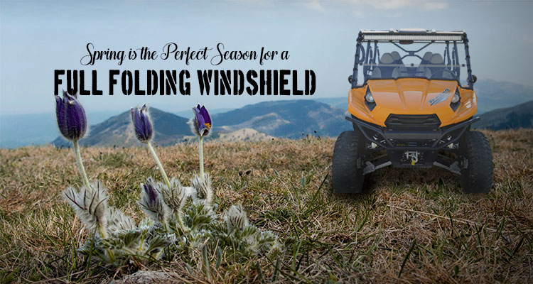 Spring is the perfect season for a full folding windshield