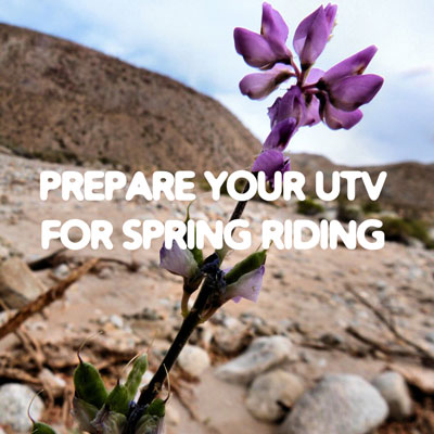 Prepare your UTV for some spring riding