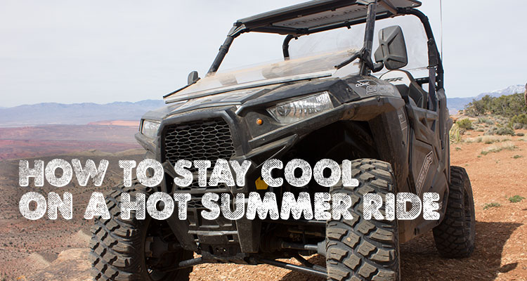 How to Stay Cool on a Hot Summer Ride
