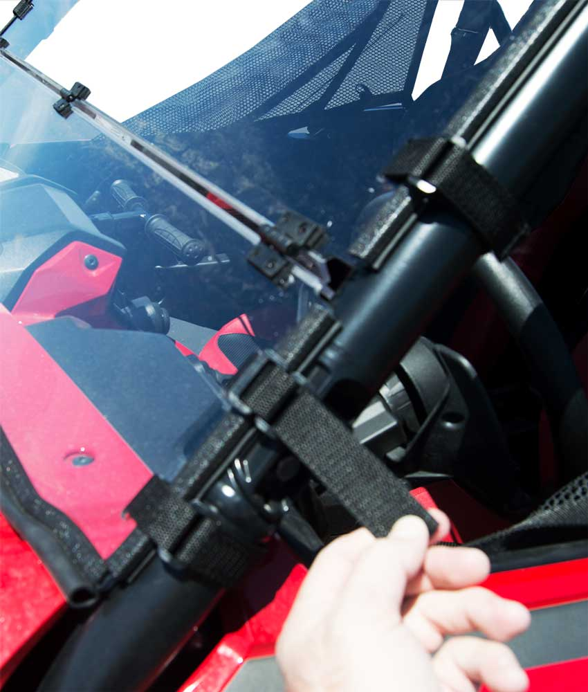 Honda Talon 1000 Windshield Velcro